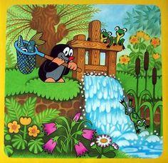 Kisvakond mese poszter mese plakát Book Characters, Cartoon Characters, La Petite Taupe, Basic Drawing, Children's Picture Books, Mole, Vintage Children, Cute Cartoon, Animation