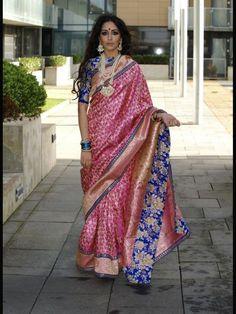 Saree by Ayush Kejriwal...This is looks good!!!