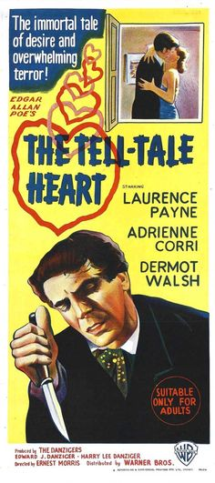 The Tell-Tale Heart Movie Posters From Movie Poster Shop