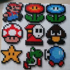 Super Mario hama beads by ana_isabl