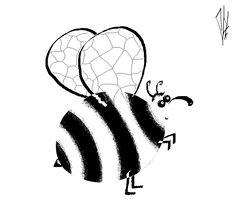 большой полосатых мух