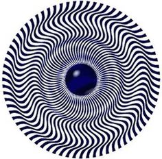 Rotating Snake Illusion - http://www.moillusions.com/rotating-snake-illusion/