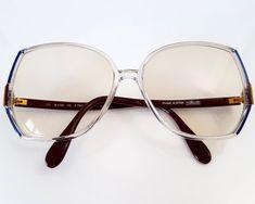 Vintage SILHOUETTE Austria Sunglasses, Retro Eyewear, Mid Century Oversized Sunglasses / Mid Century Extravagant Eyewear