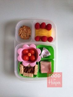 DIY Mini Sandwiches packed for lunch via http://foodforharper.com/