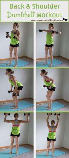 d771af6389b Back and Shoulder Workout Bovenrug Oefeningen, Arm Versteviging Oefeningen,  Ochtendgymnastiek, Schouder Workout Vrouwen