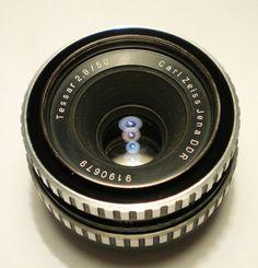 Carl Zeiss Tessar Zebra 50mm F2.8 M42 Prime Lens