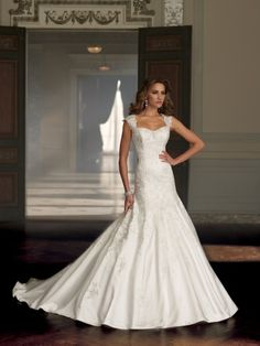 Style No. 213243 »David Tutera for Mon Cheri #davidtutera #weddingdress #bridal #moncheri