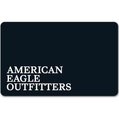 American Eagle Outfitters Gift Cards : 24% off Face Value  http://www.mybargainbuddy.com/american-eagle-outfitters-gift-cards-24-off-face-value