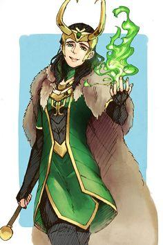 Loki fem. version || Cr: サフラン