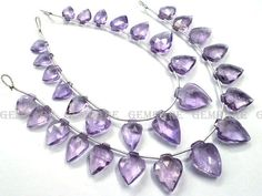 25 Pieces of Amethyst Light beads in Arrow Faceted Shape #amethystlight #amethystlightbeads #amethystlightbead #amethystlightarrow #arrowbeads #beadswholesaler #semipreciousstone #gemstonebeads #gemrare #beadwork #beadstore #bead