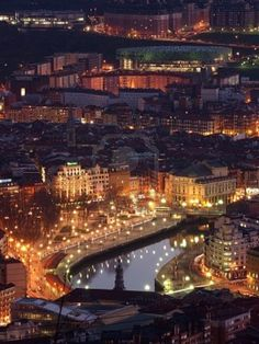 Bilbao, Basque Spain, found out that this is where my Father's family originated from