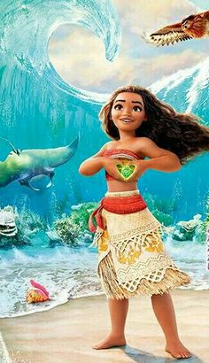 Moana - Love Tutorial and Ideas Moana Disney, Disney Cartoons, Disney Movies, Disney Characters, Disney Fan Art, Disney Animation, Disney And Dreamworks, Disney Pixar, Lilo Et Stitch