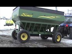 Demco Grain Wagon Torsion Bar Suspension - YouTube