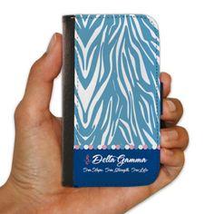 Delta Gamma Samsung Galaxy S4 Protective Wallet Case - Zebra Print Design VictoryStore http://www.amazon.com/dp/B00IK393H0/ref=cm_sw_r_pi_dp_Fd37vb0V661JH