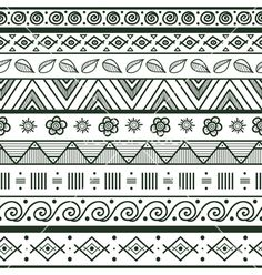 Easy Tribal Patterns To Draw Pictures