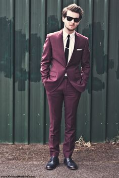 Purple suits. Purple suits for everyone. <3