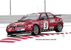 Autodelta Alfa Romeo 156 GTA ETCC