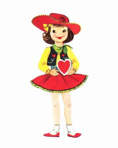 As I placed my Ever so Cute Magpie-Ethel Valentine Spun Head among my other holiday celebrating characters, I noticed a physical charac...