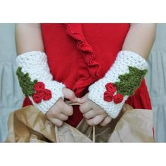 "These holiday wrist warmers are so versatile and simple. It is the perfect quick and easy DIY holiday gift.With each design pattern, I aim for simplicity, wearability, and the kind of timeless appeal that makes a hand crocheted item something to treasure and make an heirloom piece. All patterns written in standard US terms.Includes three sizes: Toddler, Child, and Adult - Toddler: 3"" wide (flat), 7"" long - Child: 3.5"" wide (flat), 8"" around - Adult: 4"" wide (flat), 9"" around Uses any…"