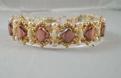 Handmade, California Princess, Silky Bead Bracelet; High Fashion by JazzyDazzleJewelry on Etsy