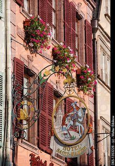 Hotel Saint Martin ~ Alsace Region, Alasatian Wine Route, Colmar, France