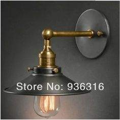 Hot sale America style country nostalgic vintage copper wall lamps for home decor restauran dinning room E27 110 240V-inWall Lamps from Lights & Lighting on Aliexpress.com | Alibaba Group