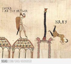 Medieval star wars - @Audrey Wheeler, this made me think of you! hahaha!