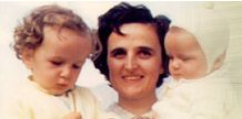 St Gianna-patron saint of working mothers, and for pro-life. she was a doctor and mother who died for her unborn baby (choosing to treat a uterine tumor after the baby was born vs. removing the uterus thus ending her unborn baby's life). my daughter's named after her.