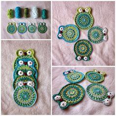 Owls   #crochet