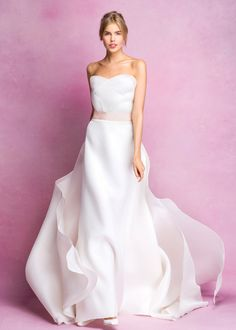 Angel Sanchez Bridal Fall 2016 Collection Photos - Vogue