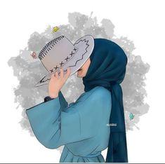 Islamic Wallpaper, Galaxy Wallpaper, Wallpaper Backgrounds, Cute Song Lyrics, Cute Songs, Blur Background Photography, Islamic Cartoon, Whatsapp Status Quotes, Hijab Cartoon