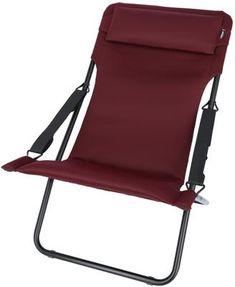 CampingWagner | Lafuma Transabed XL Plus Air Comfort Campingstuhl Bordeaux  | 3614210002760
