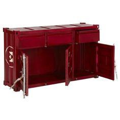 Amazing Sideboard Care Metall rot lackiert Sch be T ren Amazon de