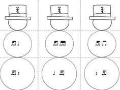 Music a la Abbott - Amy Abbott - Kodály Inspired Blog and Teachers Music Education Resource: Frosty the Snowman