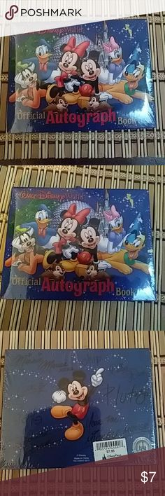 Official autograph book Brand new Disney Other