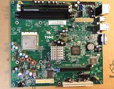 Dell Dimension C521 Motherboard 0HY175 AMD ATHLON 64 3200 CPU  1GB RAM