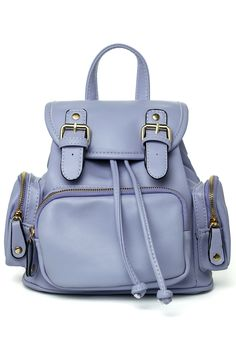 Candy Color Purple Mini Backpack - New Arrivals - Retro, Indie and Unique Fashion