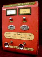 Perfume Shrine: The Perfumatic: Coin-Operated Perfume Dispenser