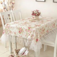 Love this tablecloth