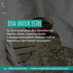 Doa untuk istri.. . . . Follow @cintazakat Follow @cintazakat . . https://ift.tt/2f12zSN
