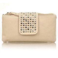 Väska - Väska / plånbok med nitar - svart - E-zy Store