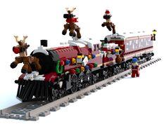 Discover all the amazing ideas made by and voted for by LEGO® fans - Deringa Lego Christmas Train, Lego Jurassic World Dinosaurs, Lego Gingerbread House, Lego Friends Birthday, Casa Lego, Lego Winter Village, Lego Advent Calendar, Lego Trains, Lego Military