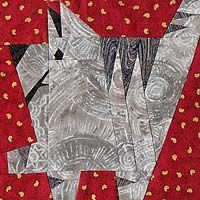 Whatzit Kitty PaperPieced Pattern at Paper Panache