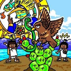 Huitzilopochtli by nosuku-k on DeviantArt Aztec Emperor, Aztec Warrior, Aztec Art, I Really Love You, Deviantart, Character Description, Funny Art, Central America, User Profile