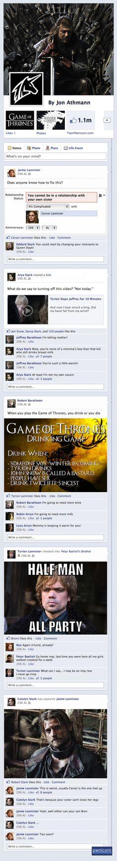 #gameofthrones #got #facebook