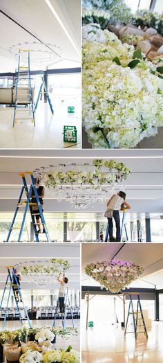 Rebecca Twigley + Chris Judd - Event Design + Styling by The Style Co.