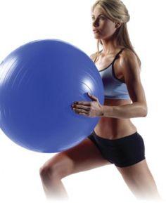NordicTrack 65 cm Antiburst StayBall™ (Blue)