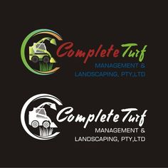 Complete Turf Management & Landscaping pty ltd - A modern stylish funky easy to read logo that will stand out