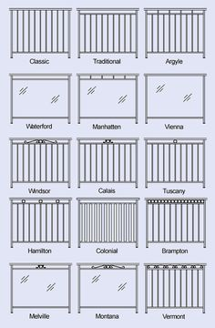 Wrought iron ideas for the front