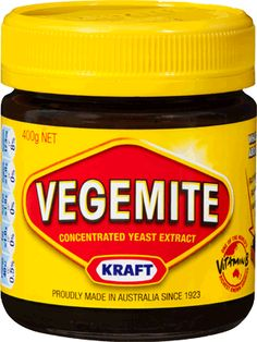 The ultimate Australian Food. I passed my immigration test by loving Vegemite! Has to be on Sourdough and heaps of butter though. AU 2013